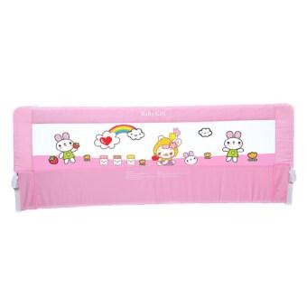 Baby Gift ที่กั้นเตียงกันเด็กตกเตียง ขนาด 0.8 เมตร (สีชมพู)