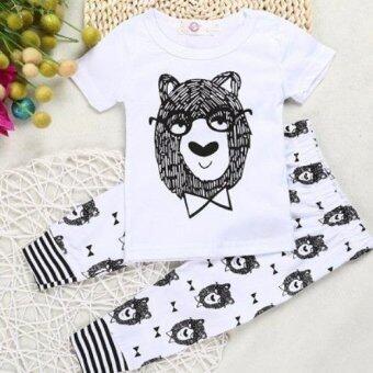 เสื้อผ้าเด็กอ่อน ชุดเด็กอ่อน เสื้อผ้าเด็ก ของใช้เด็กอ่อน เสื้อผ้าเด็กแรกเกิด เสื้อกันหนาวเด็ก ชุดเด็ก สีขาว ลายหมี