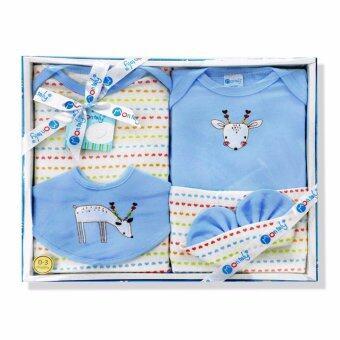 Babybrown Giftset กล่อง สำหรับเด็กแรกเกิด ชุด 5 ชิ้น สีฟ้า