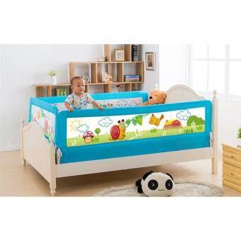 nanarak ที่กั้นเตียง ยาว 180 cm สูง 68 cm - สีฟ้า
