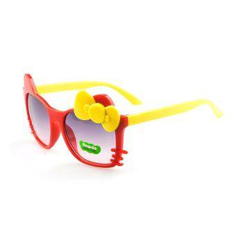 Baby Touch แว่นกันแดดเด็ก คิตตี้ (แดง เหลือง)