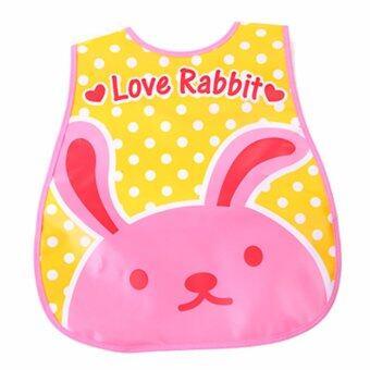 Baby Touch ผ้ากันเปื้อนเด็ก กันน้ำ ลายกระต่าย