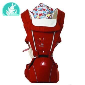 GABESY เป้อุ้มเด็ก Hip Seat Baby Carrier Multi-function (สีส้ม/ Orange )