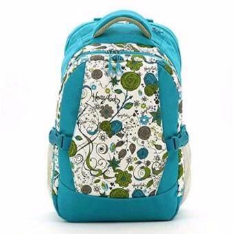 Audrey กระเป๋าเป้สะพายหลังสำหรับคุณแม่ กระเป๋าใส่ผ้าอ้อม ขวดนม ของใช้เด็ก กันน้ำ รุ่น DN083 สีฟ้า