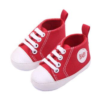 เด็กทารกเด็กวัยเตาะแตะ focalbaby นิ่มพื้นรองเท้าผ้าใบรองเท้าเด็กเตียงสำหรับ 0 ที่ 12เดือน