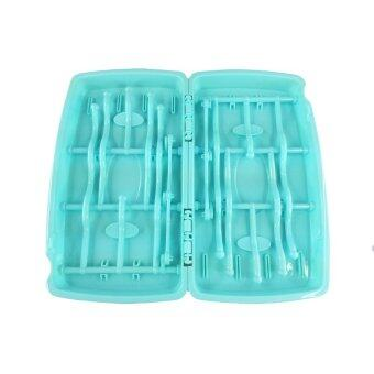 GRACE KIDS เซทแปรงล้างขวดนมเซท5ชิ้น (สีฟ้า) พร้อมแปรงล้างจุกนมแบบหัวซิลิโคนและที่ตากขวดนมแบบพกพา (image 4)