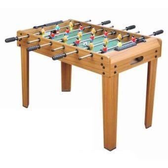 โต๊ะบอล ยกสูง สีไม้