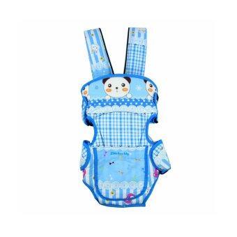Baby Carrier เป้อุ้มเด็ก สะพายด้านหน้า/หลัง รุ่น AM21822-BB2 ( สีฟ้า)