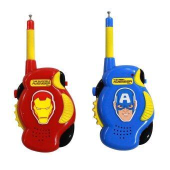Telecorsa วิทยุสื่อสารเด็กเล่น Avangers รุ่น HE-1660 (Red/Blue)