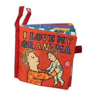 smartbabyandkid หนังสือผ้า I Love My Grandma