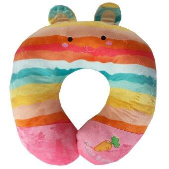 Papa หมอนโค้งรองให้นม Rainbow (หน้ากระต่าย/หมี)