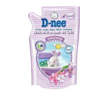 D-Nee น้ำยาปรับผ้านุ่ม ไลฟ์ลี่ กลิ่น Patchouli Blossom ขนาด 600 มล. (12ถุง)