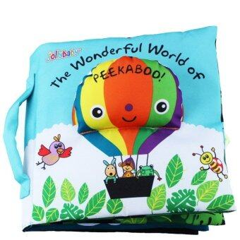 Harga smartbabyandkid หนังสือผ้า The Wonderful World of PEEKABOO