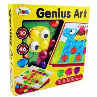 smartbabyandkidGenius Art ของเล่นฝึกจำแนกสี