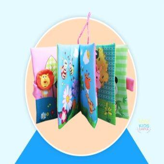 Jolly Baby หนังสือผ้าเสริมพัฒนาการและการเรียนรู้สอนเรื่องสัตว์ Learning With Animals (image 2)