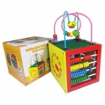 TOP ONE ของเล่นไม้ กล่องกิจกรรม เสริมพัฒนาการ (BB005)