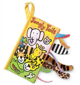 smartbabyandkid หนังสือผ้าJungle Tail by Jollybaby
