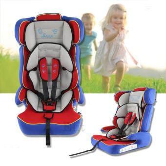 Elit คาร์ซีท 3 in 1 เบาะนิรภัยสำหรับเด็ก เบาะนั่งในรถ (เทา-น้ำเงิน)