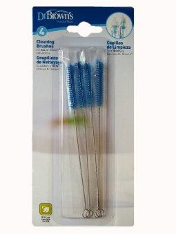 Dr.Brown's แปรงล้างแกนกลางขวดนม Cleaning Brushes, 4 Pack