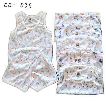 BABYKIDS95 ชุดเด็กอ่อน cc-035 Size 3-6 เดือน ผ้ายืดนิ่ม เซ็ท 7 ชิ้น