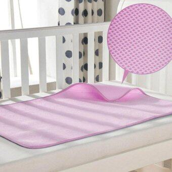 แผ่นรองนอนกันฉี่ สีชมพู (Urine Protection Pad)