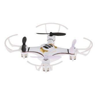 โดรน 4 ใบพัดบังคับวิทยุ (สีขาว) Drone Mini S Quadcopter (White)