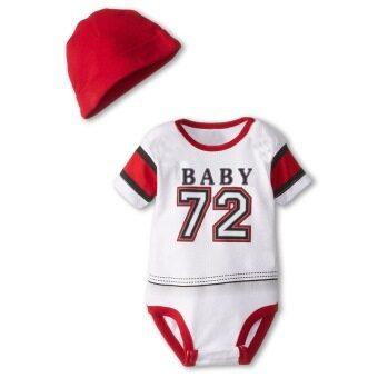 ELIBELLA เสื้อเด็ก ชุดเด็กเล็ก 10 เดือน ถึง 18 เดือน รุ่น Sport ลาย ฮอกกี้ ตัวน้อย