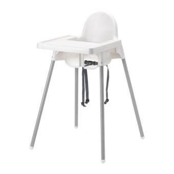 IKEA เก้าอี้สูง อันติลูป High Chair เก้าอี้ทานข้าวเด็กทรงสูง พร้อมถาดวางอาหาร