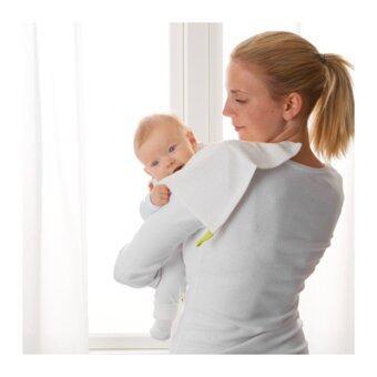 ผ้าขนหนูสำหรับเด็กทารก 10 ชิ้น, ขาว(Me Time)