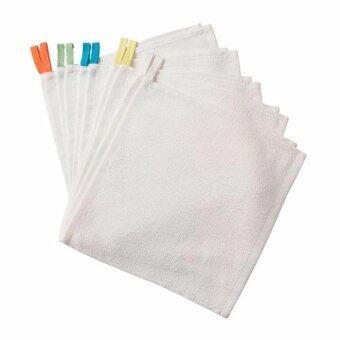 ครอมม่า ผ้าขนหนู ขาว 10 ชิ้น