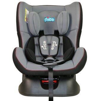 Fico คาร์ซีท รุ่น GE-B สำหรับเด็กแรกเกิดเกิดถึง 4 ขวบ (สีเทา)