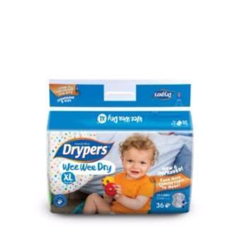 Drypers ผ้าอ้อมสำหรับเด็ก รุ่น WWD XL 36 ชิ้น