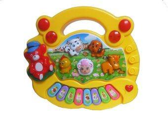 DD Baby animal farm piano ออร์แกนมินิเสียงสัตว์ สีเหลือง