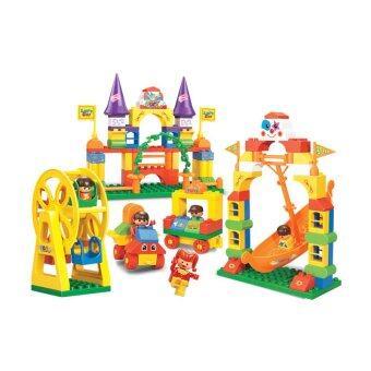 Sluban ชุดตัวต่อ สวนสนุกสำหรับเด็กเล็ก 116 ชิ้น รุ่น SB6027