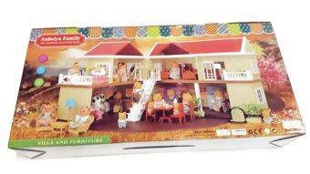 smartbabyandkidบ้านตุ๊กตากระต่าย Happy Family