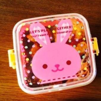 กล่องอาหารเด็ก ลายกระต่าย