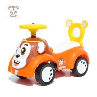 ขาไถ มังกี้ (ลิงน้อย) (สีส้ม) Monkey Ride-on Car 1169
