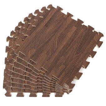 27ชิ้นไม้ประสาน EVA พื้นโรงยิมเบาะโฟมงานเด็กปริศนาเสื่อพรมตู้เล่น