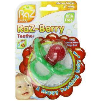 Harga Razbaby ยางกัด RaZ-berry Teether, Red