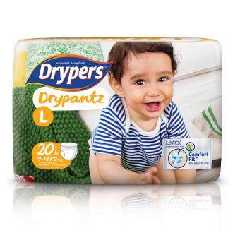 Drypers ผ้าอ้อมสำหรับเด็ก รุ่น Drypantz L 20 ชิ้น
