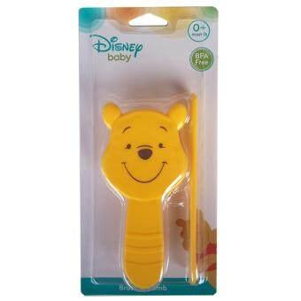 Disnep baby แปรงหวีมิกกี้ มินนี่ Mickey & Minnie (สีเหลือง)