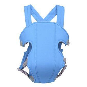 เป้อุ้มเด็กสะพายหลัง สายสะพายX รุ่น X1 - สีฟ้า