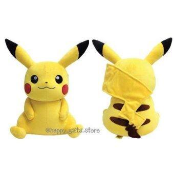 Pokemon Pikachu ตุ๊กตา โปเกม่อน ปิกาจู ท่านั่ง 7 นิ้ว( สีเหลือง)