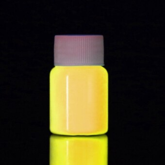 Harga Yika Fluorescent UV Glow Neon Body Paint 20ml (Yellow)