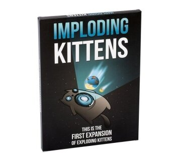 Imploding Kittens: This is the First Expansion of Exploding Kittens- intl