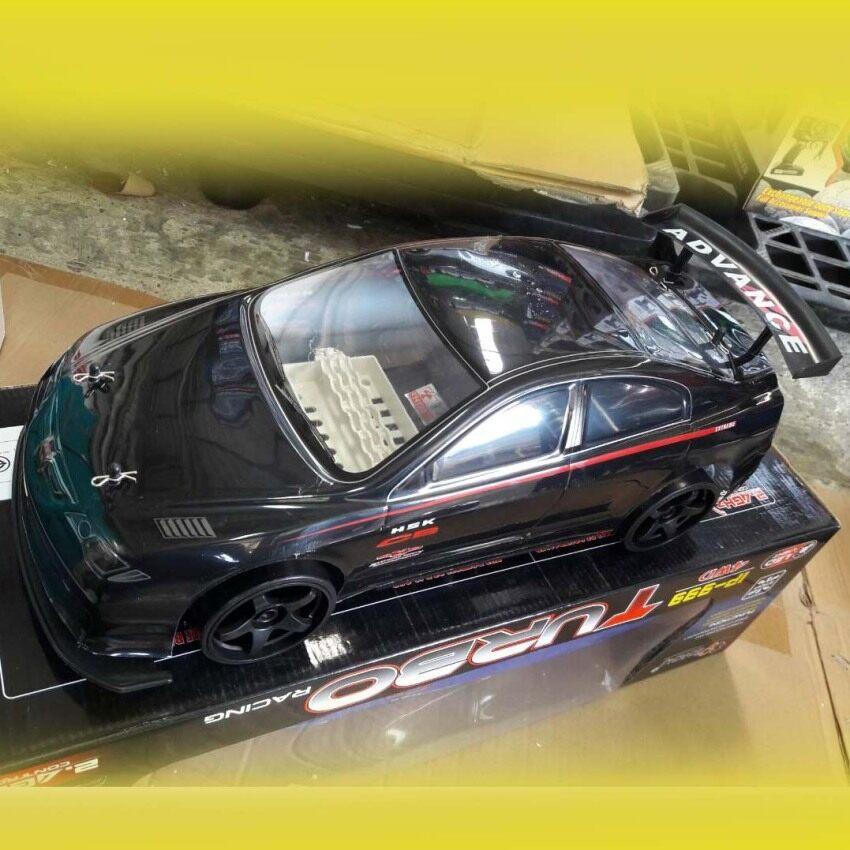 Imusic extra รถบังคับ รีโมทคอนโทรล รถเก๋ง Drift Racing รุ่น IP-999 (ดำ)