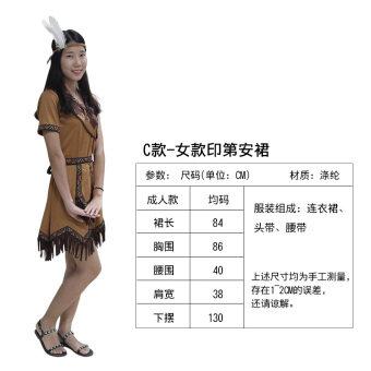 Indigenous People ฮาโลวีนเครื่องแต่งกาย