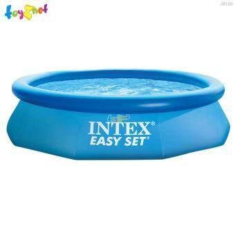 Intex สระน้ำ อีซี่เซ็ต 10 ฟุต (3.05x0.76 ม.) ลายปลาวาฬ รุ่น 28120