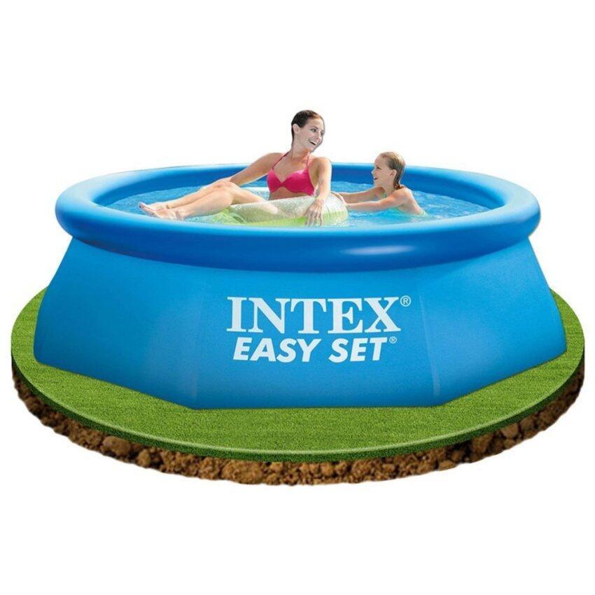 Intex 28110 สระว่ายน้ำแป่าลม Easy Set Pool 8 ฟุต (244 ซม.)