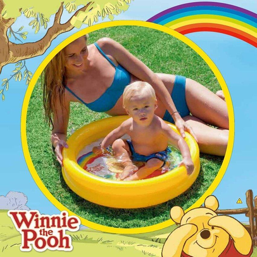 Intex 58922 Winnie the Pooh สระน้ำเป่าลมสำหรับเด็กเล็ก ขนาด:61cm*15cm